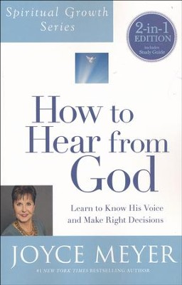 How To Hear From God 2-in-1, Book and Study Guide  -     By: Joyce Meyer