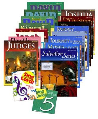 Grade 5 Homeschool Bible Curriculum Materials Kit  -