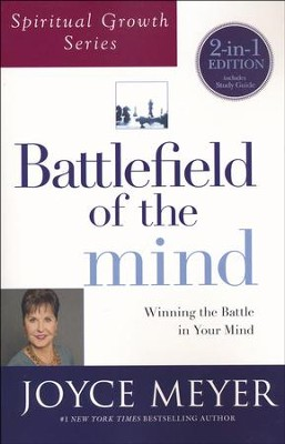 Battlefield Of The Mind 2-in-1, Book and Study Guide  -     By: Joyce Meyer