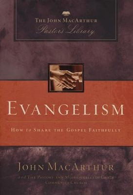 MacArthur Pastor's Library - Evangelism: How to Share the Gospel Faithfully - Slightly Imperfect  -     By: John MacArthur