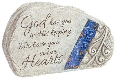 God Has You In His Keeping, Memorial Stone  -