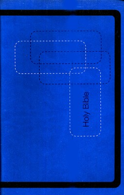 KJV Gift Bible - LeatherSoft/Cobalt   -