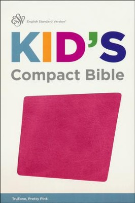ESV Kid's Compact Bible (TruTone, Pretty Pink), Imitation Leather  -