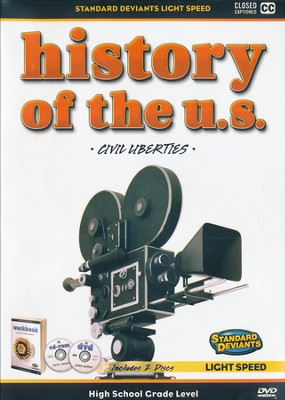Light Speed History of the U.S.: Civil Liberties DVD   -