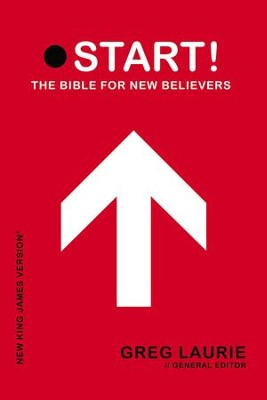 NKJV Start! The Bible for New Believers - Trade Paper Red  -     Edited By: Greg Laurie     By: Greg Laurie, ed.