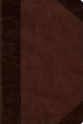 ESV Reader's Bible (TruTone, Brown/Walnut, Portfolio Design), Imitation Leather  -
