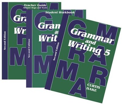 Saxon Grammar & Writing Grade 5 Kit, 2nd Edition   -