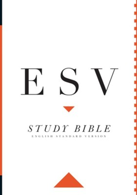 ESV Study Bible, Large Print , Hardcover  -