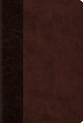 The Psalms, ESV (TruTone over Board, Brown/Walnut, Timeless Design), Imitation Leather  -