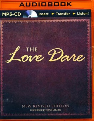 The Love Dare - unabridged audiobook on MP3-CD  -     By: Stephen Kendrick, Alex Kendrick