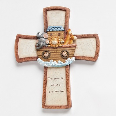 Noah's Ark Wall Cross  -