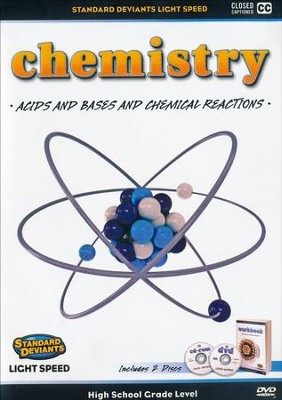 Light Speed Chemistry Module 3: Acids and Bases and Chemical Reactions DVD  -