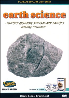 Light Speed Earth Science: Earth's Changing Surface and Earth's Energy Sources DVD  -