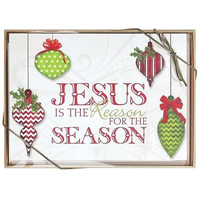 Jesus is the Reason for the Season, Box of 12 Christmas Cards  -