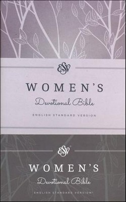 ESV Women's Devotional Bible, Purple Hardcover  -