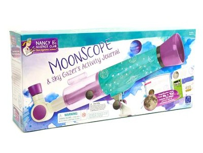 Nancy B's Science Club: Moonscope & Sky Gazers Activity Journal  -