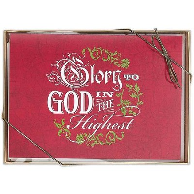 Glory to God, Box of 12 Christmas Cards  -