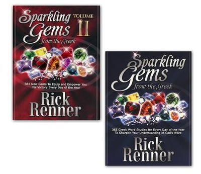 Sparkling Gems from the Greek, 2 Volume Set   -     By: Rick Renner