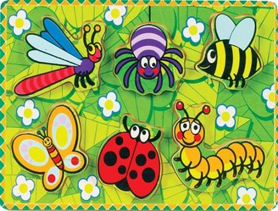 Chunky Bugs Puzzle  -