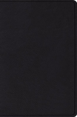 ESV Verse-by-Verse Reference Bible, Black Topgrain Leather  -