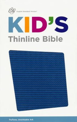 ESV Kid's Thinline Bible, TruTone Imitation Leather, Unsinkable Ark  -