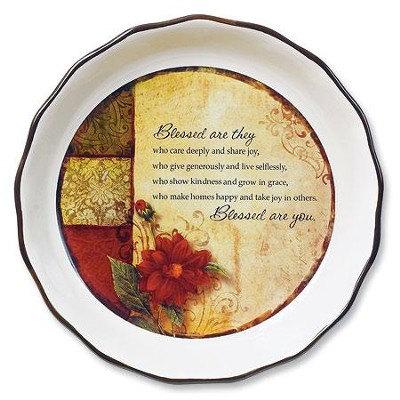 Blessed Are You--Pie Plate   -
