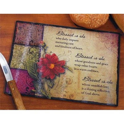 Blessed Is She, Cutting Board     -