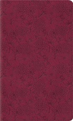 ESV Kid's Thinline Bible, TruTone Imitation Leather, Pink Petals  -