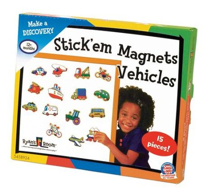 Stick 'Em Magnets, Vehicles  -