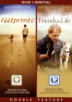 Footprints/Friends for Life, Double Feature DVD   -