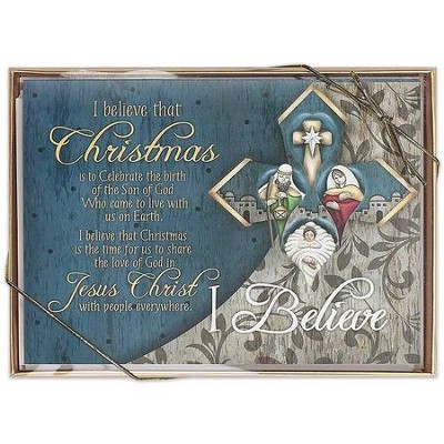 I Believe, Box of 12 Christmas Cards  -
