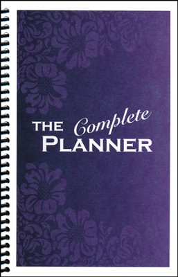 Kindergarten Complete The Complete Planner (Blue Flowers Cover)  -