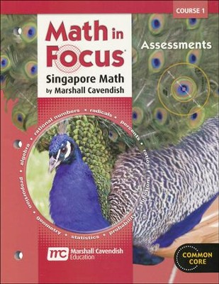 Math In Focus Course 1 Grade 6 Assessments   -     By: Marshall Cavendish
