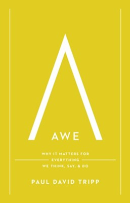 Awe: Why It Matters for Everything We Think, Say & Do    -     By: Paul David Tripp