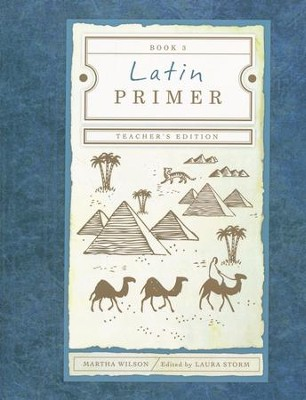 Latin Primer #3 Teacher's Text, 3rd Edition  -