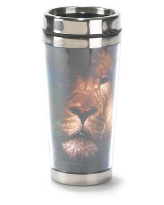 Be Strong and Courageous Travel Mug  -