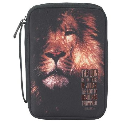The Lion of the Tribe of Judah Bible Cover, Large  -