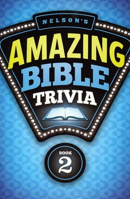 Nelson's Amazing Bible Trivia- Vol 2 - Slightly Imperfect  -