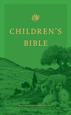 ESV Children's Bible, Green  -