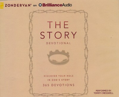 The Story Devotional: Discover Your Role in God's Story - unabridged audiobook on CD  -