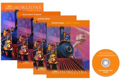 Harcourt Horizons Grade 3 Homeschool Package with Parent Guide CD-ROM  -