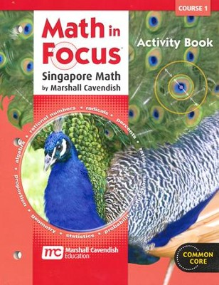 Math In Focus Course 1 Grade 6 Blackline Activities Book  -     By: Marshall Cavendish