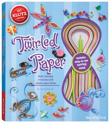 Twirled Paper: Make Almost Anything with Simple Paper Strips  -     By: Jaqueline Lee