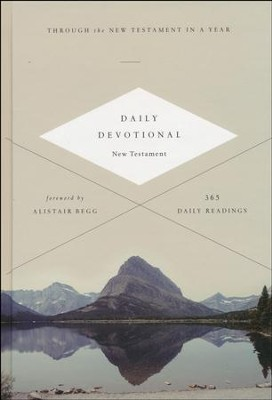 ESV Daily Devotional New Testament: Through the New Testament in a Year, hardcover  -