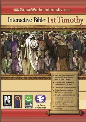 Interactive Bible: 1st Timothy Computer Game  (Access Code Only)  -