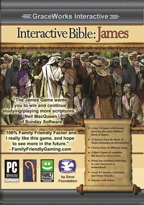 Interactive Bible: James Computer Game (Access Code Only)   -
