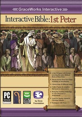 Interactive Bible: 1st Peter Computer Game (Access Code Only)   -