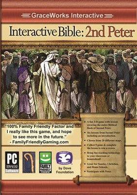 Interactive Bible: 2nd Peter Computer Game (Access Code Only)   -