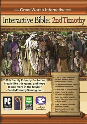 Interactive Bible: 2nd Timothy Computer Game (Access Code Only)   -