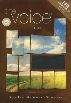 The Voice Complete Bible, Bonded leather, black   -     By: Ecclesia Bible Society